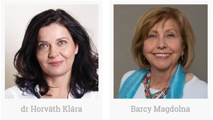 Barcy Magdolna és dr. Horváth Klára csoportvezetők